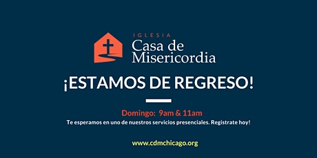 Servicio Domingo, 25 de Abril  - 9:00am boletos