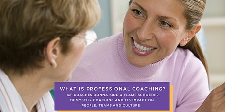 What is Professional Coaching?  How can Coaching support me as a leader? tickets