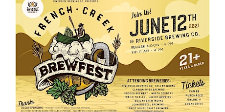 French Creek Brewfest tickets