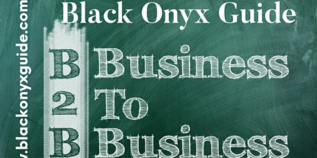Black Onyx Guide Business 2 Business Networking Group tickets