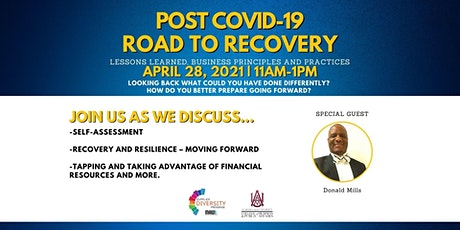 Post COVID-19: Road to Recovery tickets