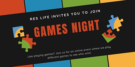 Games Night tickets