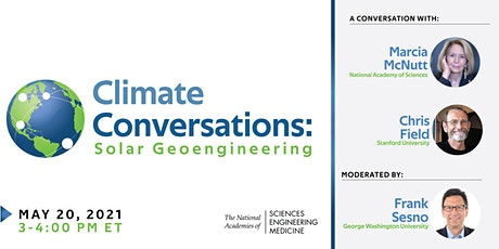 Climate Conversations: Solar Geoengineering tickets