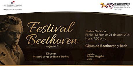 Festival Beethoven entradas
