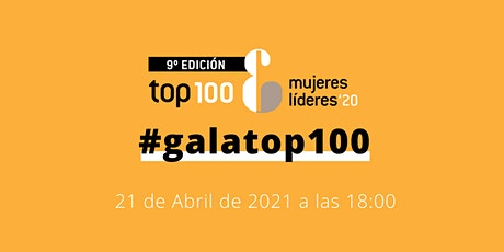 Gala Top 100 Mujeres Líderes en España '20 entradas