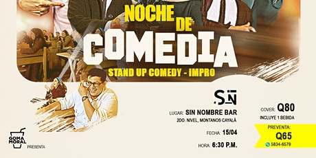 Noche de Comedia en Cayala boletos