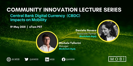MOBI Community Innovation Lecture with  Blockchain Reply Tickets