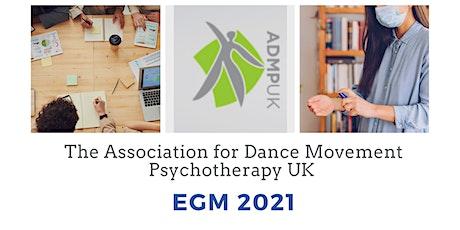 ADMP UK: Extraordinary General  Meeting (EGM) tickets