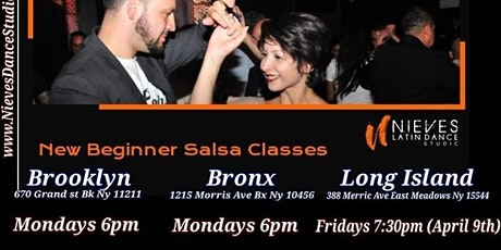 Salsa Classes for Beginners in Brooklyn tickets