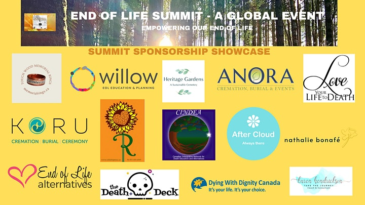 END OF LIFE SUMMIT - A GLOBAL EVENT image