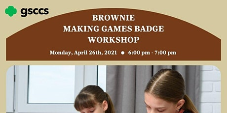 Brownie Making Games Badge Workshop tickets
