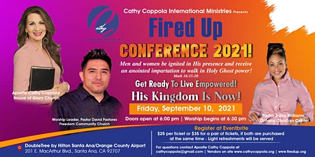 Fired Up 2021 - Get Ready To Live Empowered! tickets