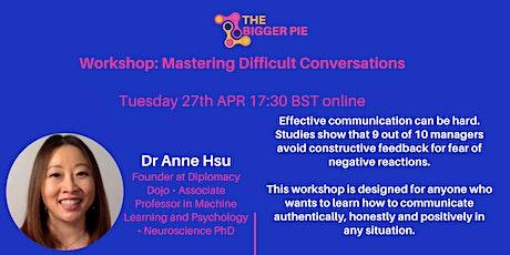 Workshop: Master Difficult Conversations tickets