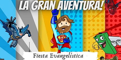 Fiesta Infantil CRISTO ES MI SUPERHÉROE entradas