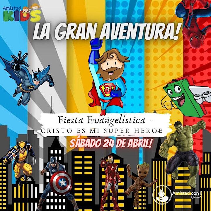 Imagen de Fiesta Infantil CRISTO ES MI SUPERHÉROE