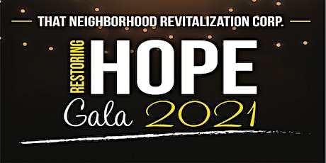 Restoring Hope Gala 2021 tickets