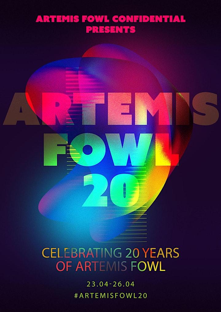 Artemis Fowl 20th Anniversary Live Stream image