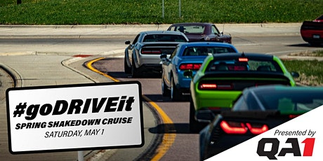 QA1 #goDRIVEit Spring Shakedown Cruise tickets