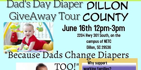 Dad's Day Diaper GiveAway~Dillon County tickets
