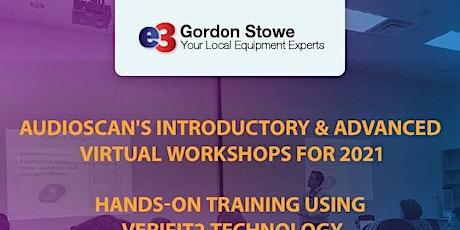 Audioscan Workshop 2021 - e3 Gordon Stowe - PM Session tickets