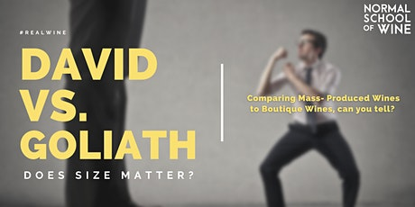 SEMINAR: DAVID vs GOLIATH: Does Size Matter? tickets