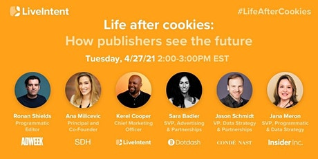 Life After Cookies: How Publishers See The Future tickets