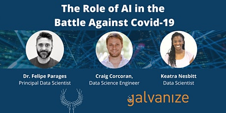 The Role of AI in the Battle Against Covid-19 [LIVE ONLINE] tickets
