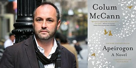 A Conversation with COLUM McCANN / Apeirogon tickets