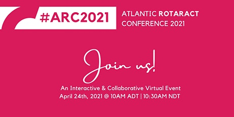 Atlantic Rotaract Conference 2021 tickets
