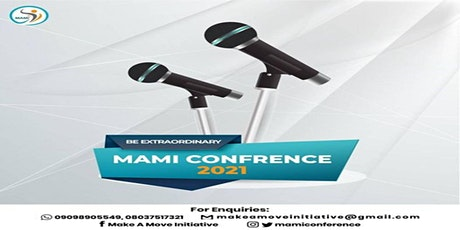 MAMI CONFERENCE 2021 tickets