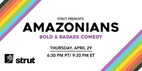 Amazonians April 29, 2021 with Strut @ The San Francisco AIDS Foundation tickets