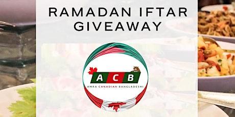 ACB Ramadan Iftar Giveaway tickets