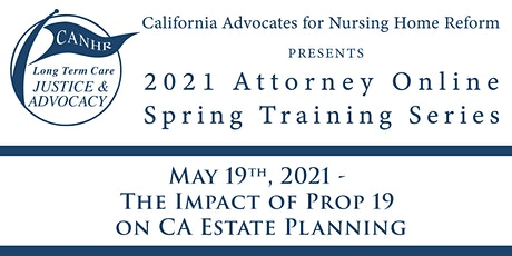 The Impact of Prop 19 on CA Estate Planning tickets