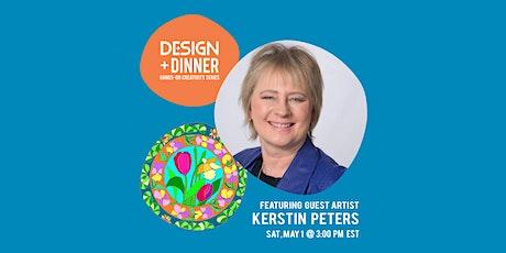 DESIGN+DINNER: Flower Mandalas with Kerstin Peters tickets