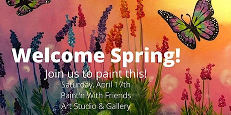 Paint Night - Lavender & Butterflies tickets