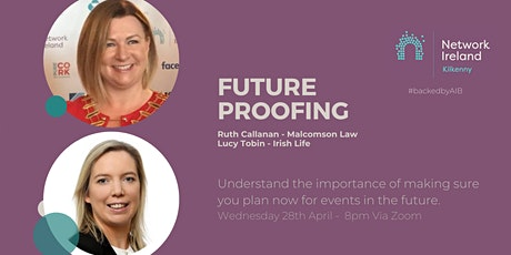 Network Ireland's Future Proofing yourself and your business tickets