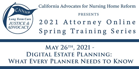 Digital Estate Planning: What Every Planner Needs to Know tickets