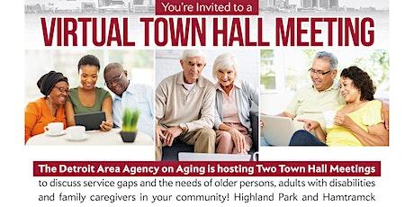 Virtual Town Hall Meeting: Highland Park tickets