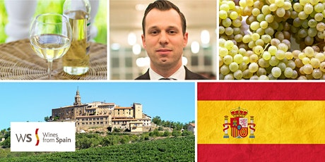 Tour of Spanish White Wine with Master Sommelier Pier-Alexis Soulière tickets