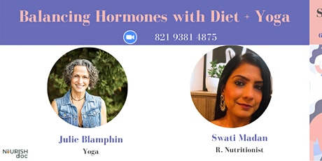 Manage and Balance Hormone Health with Diet + Yoga tickets