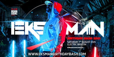 Eksman Birthday Bash 2021 tickets