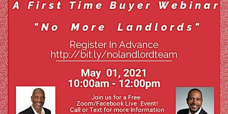 No More Landlords Webinar tickets