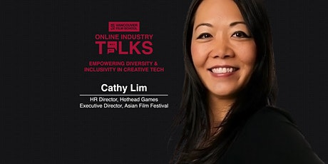 VFS Online Industry Talks: Cathy Lim tickets