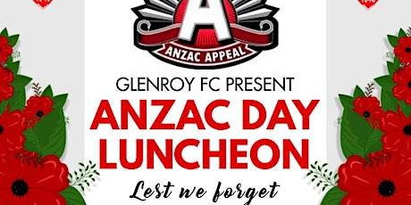 Anzac Day Luncheon tickets