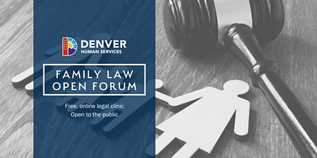Family Law Open Forum tickets