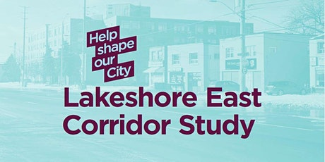 Lakeshore East Corridor Study Virtual Community Workshop tickets
