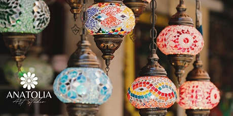 Turkish Mosaic Lamp Making Workshop Melbourne tickets