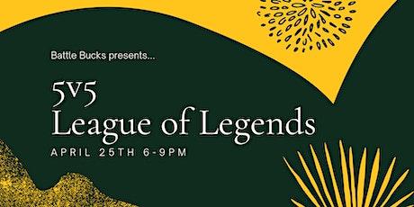 Battlebucks League of Legends Competition tickets