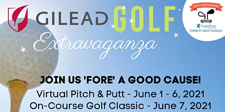 CapitalCare Foundation's Gilead Golf Extravaganza tickets