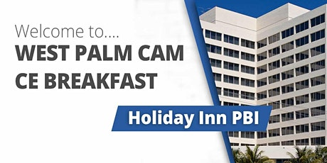 May 19, 2021 West Palm Beach CAM CE Breakfast tickets
